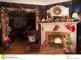 victorian christmas living room stock photo image 64011621
