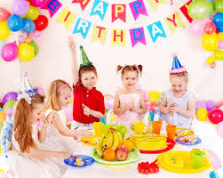 birthday party children happy birthday party stock photo picture and royalty