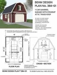 Free Standing Garage Shelf Plans by 24 U0027 X 30 U0027 Two Story Garage Garage Plans Pinterest Garage