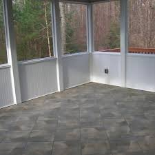 screened in porch flooring ideas the garden inspirations