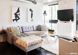 Urban Style Interior Design - home tour a stunning condo with urban style for a fraction of