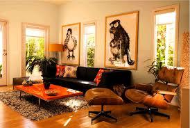 accessories divine awesome orange decor interior living room