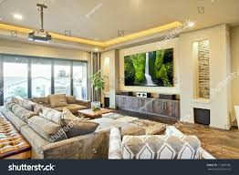 entertainment room luxury home stock photo 117897700 shutterstock