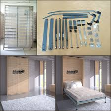 Diy Folding Bed Size Wall Bed Mechanism Diy Murphy Bed Mechanism View Wall