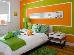 Furniture Kids Bedroom Kids Bedroom With Modern Furniture And Striped Walls The Best