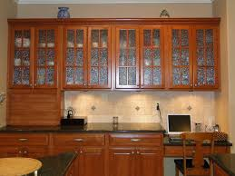 Kitchen Wall Cabinets With Glass Doors Glass Kitchen Kitchen Wall Glass Zealous Splashback Tiles