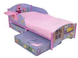 girls toddler bed with canopy top reasons why your kids will love a peppa pig bed canopy