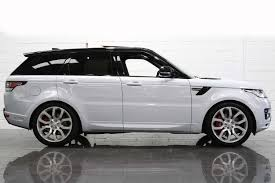 land rover white black rims used 2017 land rover range rover sport sdv6 autobiography dynamic