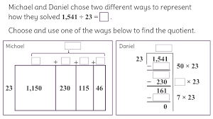 7 solve division problems using area models and rectangular