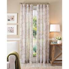 Cherry Blossom Curtains Better Homes And Gardens Floral Blossom Curtain Panel Color Ivory