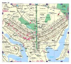 map of brasilia detailed road map of brasilia brasilia city detailed road map