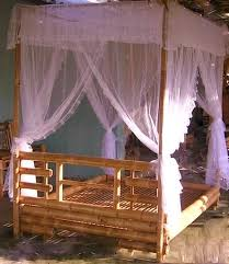 Four Poster Bed Frame Queen by Quality Bamboo And Asian Thatch 4 Poster Bed Canopy Bed Bamboo