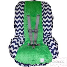 toddler car toddler car seat cover navy chevron with kelly green