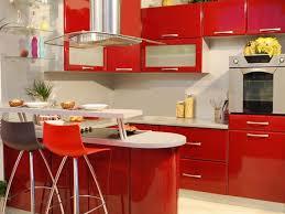 Red Colour Kitchen - luxury modern kitchen paint color ideas 4 home ideas