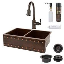 Bronze Kitchen Sinks Youll Love Wayfair - Kitchen sink and faucet sets