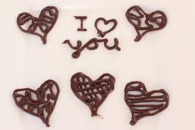 how to make chocolate heart decorations by rockin robin youtube