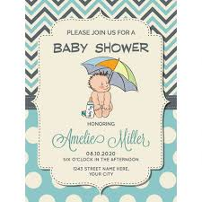 for baby shower pretty invitation for baby shower vector free