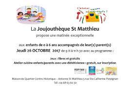 jeux de cuisine libre gratuit joujouthèque matthieu atelier spécial le 26 septembre