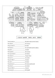 prepositions of place worksheet free esl printable worksheets