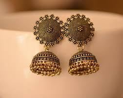 jumka earrings etsy your place to buy and sell all things handmade