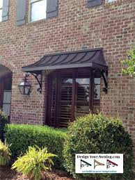 Metal Awnings For Front Doors Best 25 Metal Awning Ideas On Pinterest Front Door Awning