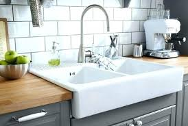 double basin apron front sink fireclay farm sink collection double bowl farmhouse sink 30 baldwin