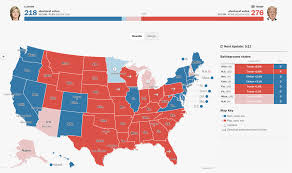 Political Maps 2016 Electoral Map And Presidential Election Results Republican