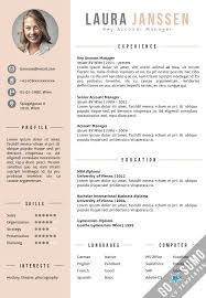 plain decoration curriculum vitae template trendy design best 25