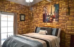 faux stone u0026 wood wallpaper u2013 ugly house photos
