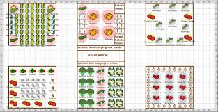 plan for good garden vegetable layout plans and spacing gardening