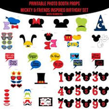 mickey mouse photo booth props mickey mouse and minnie mouse photo booth props printable props