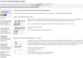 cursive u2013 home education resources