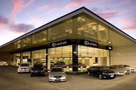 lexus showroom dealer car transporter leased pre owned vehicles