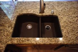 Brown Kitchen Sink Image Result For Santa Cecilia Granite Maple Cabinets Household