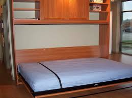 bedroom wall bed space saving furniture with built in cabinet and