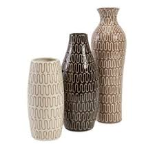 3 Vases Set Hampton Mexican Pottery Vases Set Of 3 Free Shipping Today