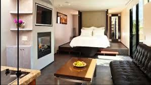 Bedroom Apartment Decor Extraordinary Studio Apartment With White Design Room Interior