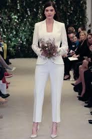 tenue mariage femme pantalon mariée en pantalon 12 tenues pour se marier en pantalon