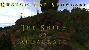 The Shire Map Minecraft Custom Map Showcase The Shire By Ardacraft Minecraft
