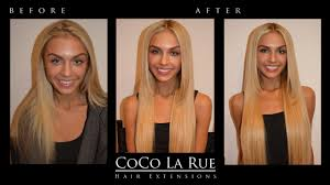 Los Angeles Hair Extensions by Before U0026 After Hair Extensions Los Angeles By Coco Larue