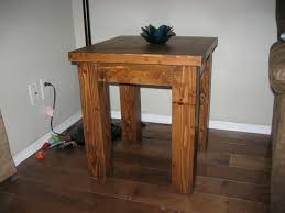 Douglas Fir Kitchen Cabinets Ana White Tryde Coffee And End Tables Douglas Fir Diy Projects