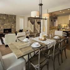 rustic dining room with unique furniture traba homes picture table