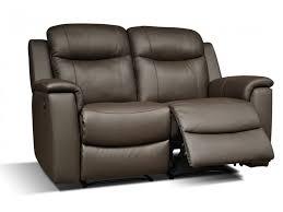 canape 2 place cuir canapé et fauteuil relax evasion en cuir 4 coloris