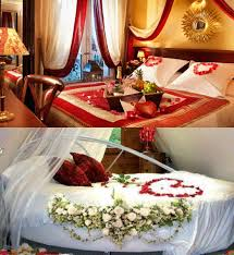 Romantic Bed Decoration For Wedding Night Wedding Rooms Decoration