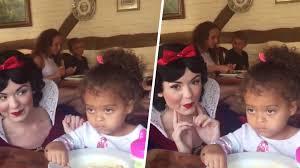 disney impressed snow white today