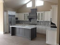 Amazing White Shaker Kitchen Cabinets Grey Floor Affordable Grey - Gray and white kitchen cabinets