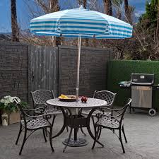 Patio Furniture Set With Umbrella Stylish Patio Tables With Umbrellas Images About Set Umbrella
