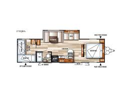 salem travel trailers floor plans 2018 forest river rv salem cruise lite 273qbxl sturgeon bay wi
