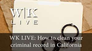 Expunge Criminal Record California How To Clean Your Criminal Record Pc 1203 4