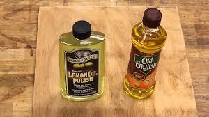 lemon oil parker u0026 bailey vs lemon oil old english part 1 youtube
